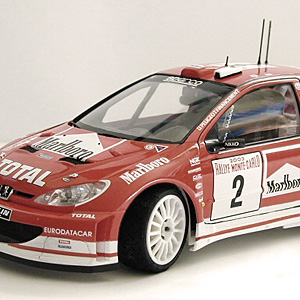 Tamiya 24267 Peugeot 206 WRC Version 2003