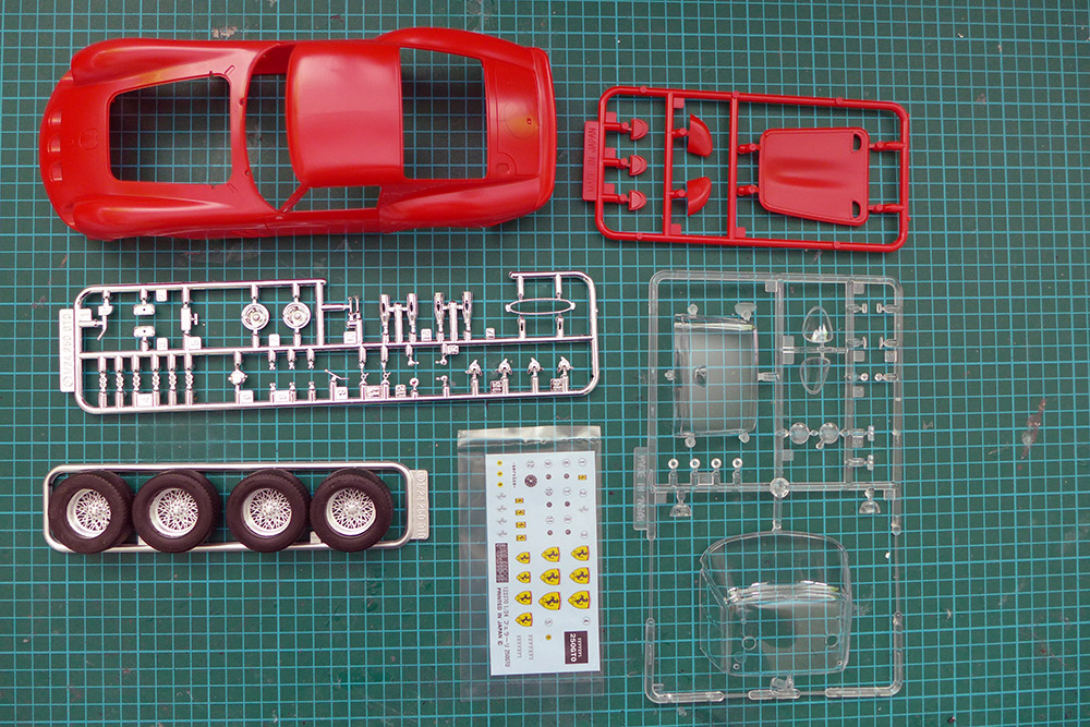 Carsmodeling Presentation Of The Fujimi 123370 Ferrari