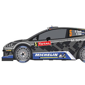 Belkits BEL003 - Ford Fiesta RS WRC with PitWall decals WIP